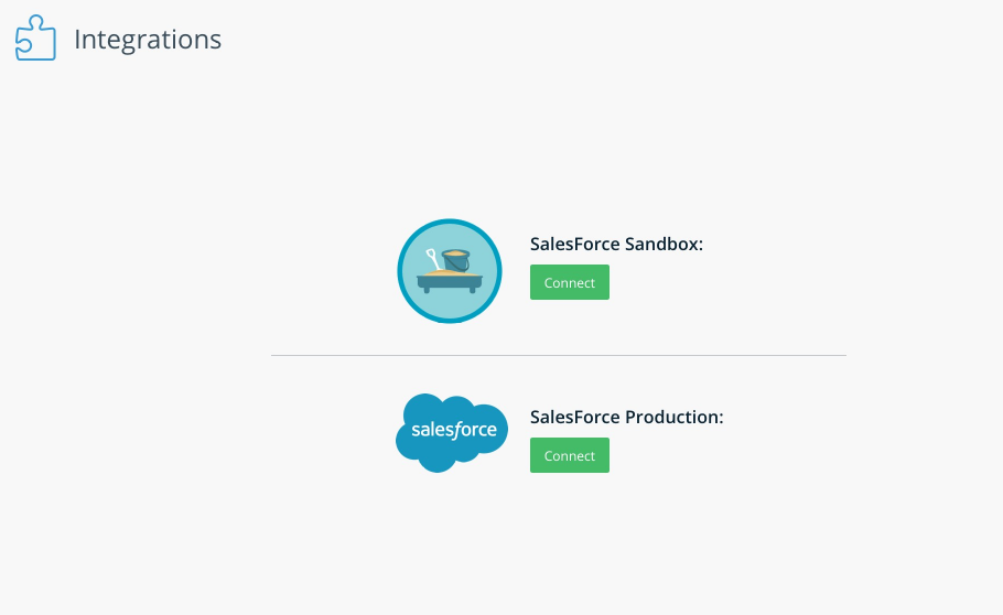 Salesforce Data Integration - WalkMe Support